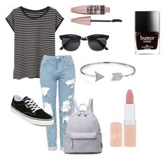 """""""#24"""" by mercedes93 on Polyvore featuring moda, MANGO, Topshop, Vans, Bling Jewelry, Rimmel i Maybelline"""
