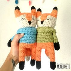* Google translation - Fox Amigurumi crochet scheme
