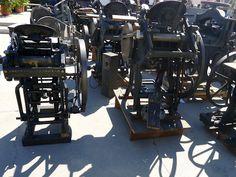 L.A. Printers Fair - Letterpress printing presses for sale