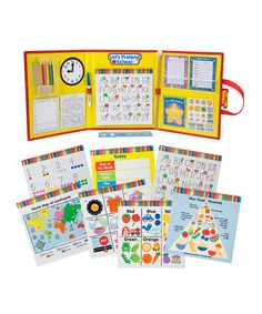 This Let's Pretend School Kit by ALEX is perfect! #zulilyfinds