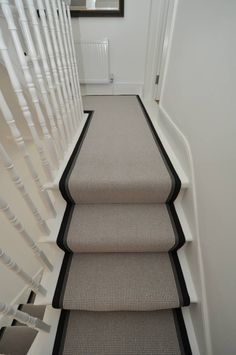 Bowloom Homedecor In 2019 Carpet Stairs Hall Carpet Stairs Stairway Carpet, Hall Carpet, Carpet Stairs, Edwardian Staircase, Victorian Terrace Hallway, Modern Farmhouse Kitchens, Farmhouse Kitchen Decor, Kardean Flooring, Small Toilet Decor