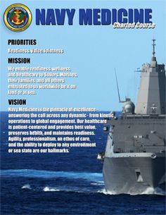 Navy Medicine Mission and Vision