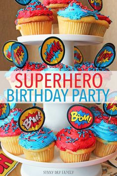 Throw a fun and easy superhero party for your kids with these awesome ideas! Super hero decorations, super hero goodie bags, activities…