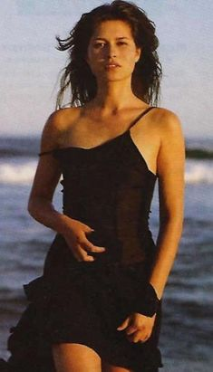 """Karina Lombard played Marina on """"The L Word"""" - loved her character. So strong and unapologetic. Wish they had kept her and not tried to ruin her character like they did. The L Word, Karina Lombard, Pretty People, Beautiful People, Beautiful Women, Native American Beauty, Portraits, Woman Crush, Celebrity Photos"""