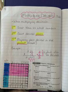 63 Best Notes Images On Pinterest Math Classroom Teaching Math