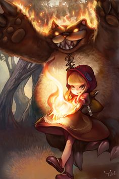 Red Hood Annie LEAGUE OF LEGENDS