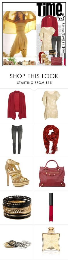 """""""bhn"""" by cayla-dy ❤ liked on Polyvore featuring Stefanel, Jigsaw, Ports 1961, Levi's, Yves Saint Laurent, Two Lips, Balenciaga, Jane Norman, NARS Cosmetics and Amrita Singh"""