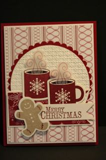 My Creative Corner!: Scentsational Season Card. (Christmas: Pin#1: Beverages... Pin+: Gingerbread...).