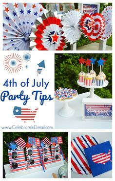 4th of July Party Ta