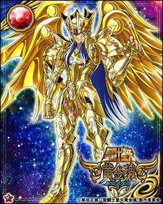 CDZ Alma de Ouro Card - Saga by SONICX2011