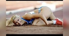 """Paraskevi """"Voula"""" Papachristou (Greece) Track and Field Olympic Sports, Olympic Games, Nfl Cheerleaders, Cheerleading, Michelle Jenneke, Sports Fails, Girls Showing Off, Beautiful Athletes, Runner Girl"""