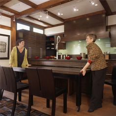 35 clever and stylish small kitchen design ideas spaces kitchens pull out kitchen table google search watchthetrailerfo