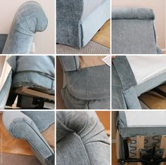 Re-Upholstering 101: How I re-upholstered my swivel armchair | Make It and Love It