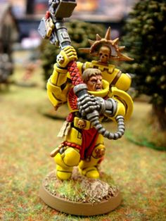 Chapter Champion, Imperial Fist Chapter Champion, Imperial Fists, Space Marines