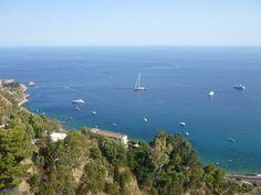 Living in Sicily - Vardag På Sicilien: Taormina (ME) - Isola Bella