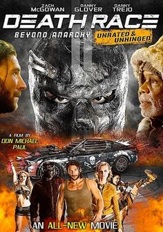Death Race 4 : Beyond Anarchy Danny Glover, Latest Movies, New Movies, Prison, Death Race, Danny Trejo, Movie Releases, Anarchy, Action Movies