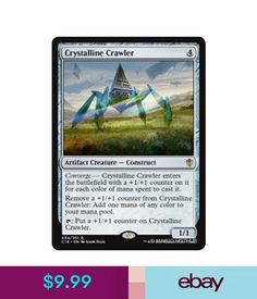 CRYSTALLINE CRAWLER NM mtg Commander 2016 Grey Artifact Rare