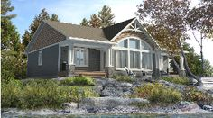 Bask in the elegance of the Dorset III, only from Beaver Homes & Cottages http://bit.ly/1UviRxu