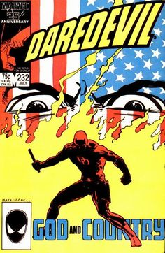 Daredevil #232 first appearance of Nuke.