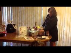 """Senior Consultant Kelly Dunham shares her """"Party Basket"""" filled with products and literature. Mary Kay Party, Satin Hands, Mary Kay Cosmetics, Wrapping Ideas, Studio Ideas, Direct Sales, Gift Baskets, Business Ideas, Daughter"""