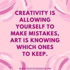 Creativity Quotes Quoteoftheday 🌺 .more Visit Httpjoyfulsource20Inspiring .