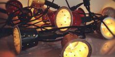 Luces arbol de navidad capsulas cafe nespresso