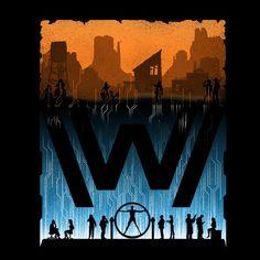 Westworld Go Between Worlds T-Shirt