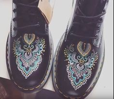 Painted Shoes, Diy Clothing, Custom Shoes, True Love, Clogs, Upcycle, Oxford Shoes, Portugal, Ideas