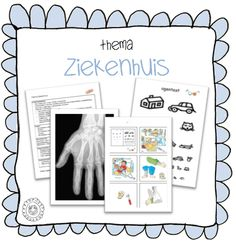 Kaarten voor in de ziekenhuishoek | Thema 112 ZIEKENHUIS Preschool Learning, Teaching, Kindergarten, Dutch Language, Back 2 School, Future Jobs, Community Helpers, Ambulance, Dramatic Play
