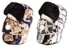 2d5659d544aef Sakkas Alex Unisex Ushanka Faux Fur Windproof Trapper Aviator Hat Removable  Mask