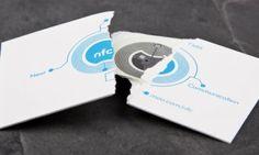 Visitekaartje krijgt NFC chip
