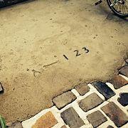 Entrance,ガーデニング,DIY,レンガ敷き,自転車置き場,りめ缶に関連する他の写真