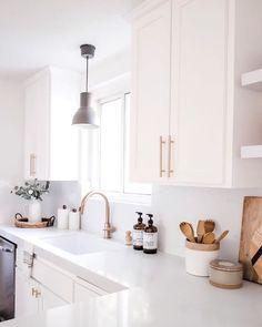 Home Decor Kitchen .Home Decor Kitchen Home Decor Kitchen, Kitchen Furniture, New Kitchen, Apartment Kitchen, Home Kitchens, Kitchen Post, Awesome Kitchen, Minimal Kitchen, Gold Kitchen