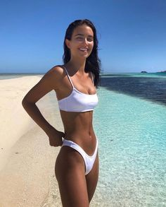 bikini riot com : ruched supportive swimsuit circle bikinis scrunch bandeau bikinis ruch supportive swimwear Bikini Mode, The Bikini, Bikini Girls, Bikini Swimsuit, Body Inspiration, Fitness Inspiration, Bikinis, Swimsuits, Photo Summer