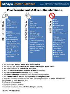 Professional Attire Guidelines