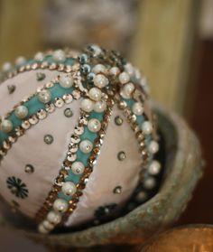 Vintage homemade ornament