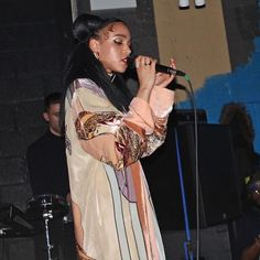 """She looks very Queen of the Damned."" 