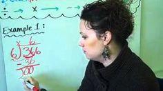 Long Division - Christine Munafos Flipped Classroom - 4th Grade STEM, via YouTube.
