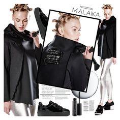 """MALAIKA"" by gaby-mil ❤ liked on Polyvore featuring Kenzo, Clé de Peau Beauté, Old Navy, MAC Cosmetics, jacket and malaikanewyork"