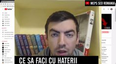 Ce sa faci daca haterii ti-au umplut canalul? Clip complet: https://t.co/yMwk3QEErS #hatersonyoutube #youtubehaters #donthate #haterpeyoutube https://t.co/B47Jw4WC9K