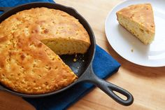 This corn bread, adapted from the one developed by Chris Schlesinger and served at his East Coast Grill in Cambridge, Mass., is lofty and sweet, crusty and cakelike, moist and ethereal. (Photo: Danny Ghitis for The New York Times)