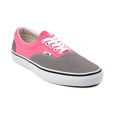 Shop for Vans Era Skate Shoe in Gray Pink at Journeys Shoes. Shop today for the hottest brands in mens shoes and womens shoes at Journeys.com.The Vans Era is a skate classic crafted with a soft footbed, double-stitched vamp, padded collar, and Vans signature waffle sole. Features a two tone canvas upper.