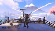 Mercy screenshot Overwatch