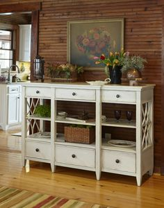 Shabby Chic Sideboard #countrystyle