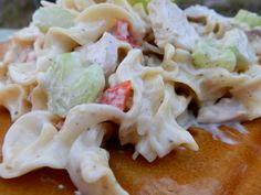 http://allrecipes.com/Recipe/NO-YOLKS-Creamy-Chicken-Noodle-Casserole#AllstarsNoYolks #onlynoyolks #myallrecipes #allrecipesallstars