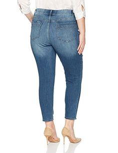bcf8adfc2b86e Riders-by-Lee-Indigo-Womens-Plus-Size-Modern-Collection-Skinny-Cropped-Denim -Jean