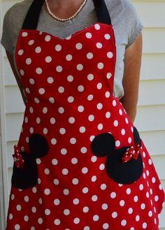 Mandil Minnie Mouse