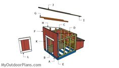 This step by step diy project is about duck coop plans. I have designed this duck house with nesting boxes, so you can build one for your ducks. Duck House Plans, Duck Coop, Coop Plans, Floor Framing, Wooden Playhouse, Diy Shed, Nesting Boxes, Outdoor Projects, Play Houses