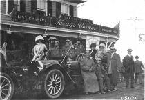 1910  Mineola -- Krug's Corner/Krug's Hotel on the northwest corner of Jericho Tunrpike intersection with Willis Avenue.