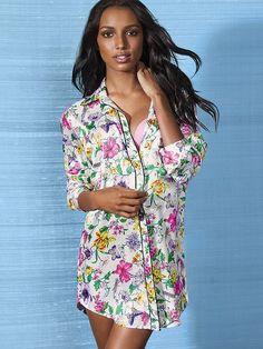 NEW!  Satin Sleepshirt #VictoriasSecret http://www.victoriassecret.com/sleepwear/bedtime-favs/satin-sleepshirt?ProductID=103509=OLS?cm_mmc=pinterest-_-product-_-x-_-x